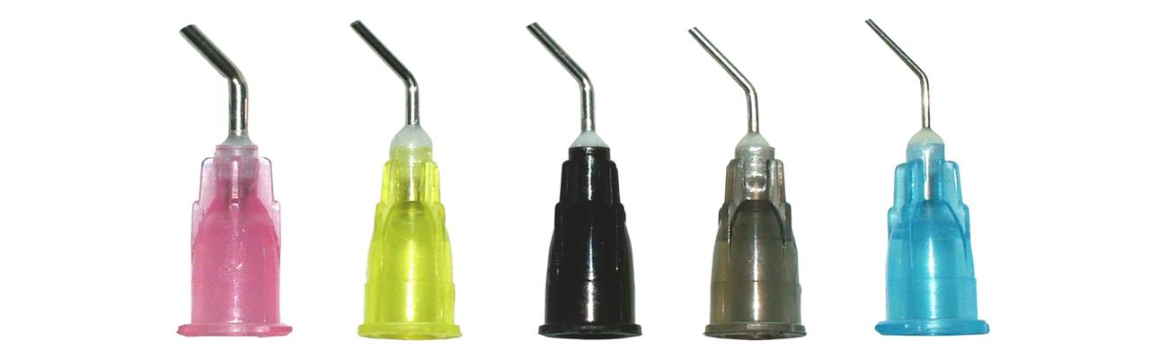 Pre-Bent Dispensing Tips
